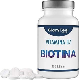 GloryFeel® Biotina 10000 mcg de dosis alta (Vitamin B7) -
