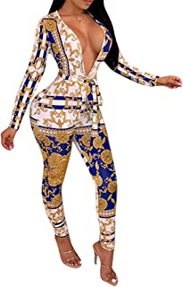 ad57d2035489 One Piece Jumpsuits Romper Sexy Deep V Neck Long Sleeve Bodycon Jumpsuit  Clubwear