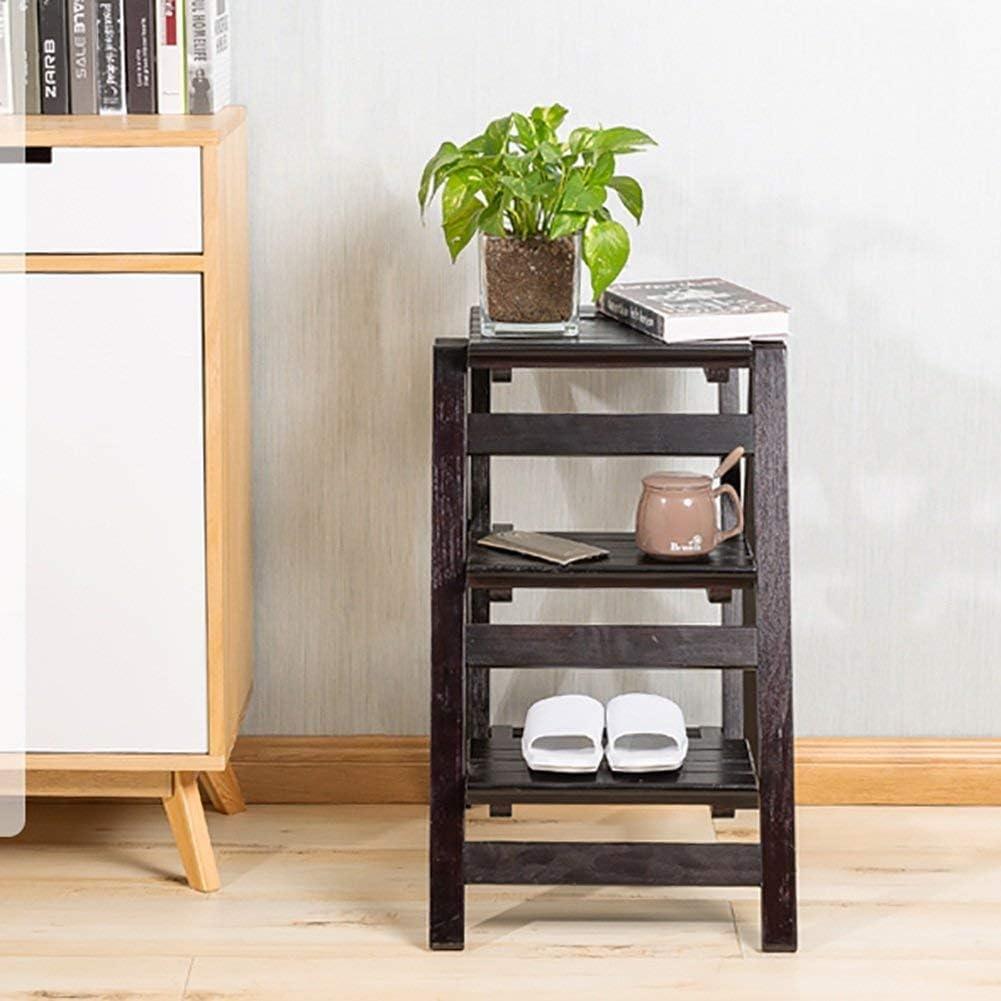 Chaise Adulte échelle Tabouret 4 Escabeau Portable 2-ménage Étape Bois 3 Étape Étape Sièges Enfants Intérieur Échelle Multi-Usage, 2-Step, (Color : 2-Step) 3-step