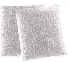 Zealor White Styrofoam Foam Balls 0.1-0.18 Inch for Slime Crafts Supplies (Approx 40000 Foam Balls)