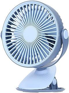 Color : 02 XIAOF-FEN USB Fan Mute Rechargeable Fan Desktop Handheld Portable Fan Flexible Clip Fan USB Fan