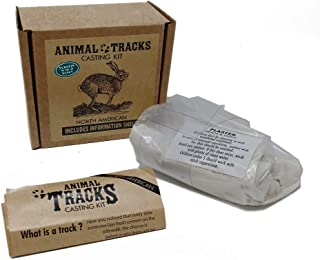 North American Animal Tracks Casting Kit - Everything You Need to Collect Animal Tracks - Perfect Gift for Kids, Loved Ones, or Yourself!