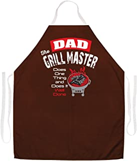 Attitude Aprons 2448 Dad The Grill Master Apron