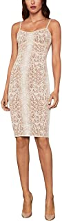 BCBGMAXAZRIA Women's Snakeskin Cocktail Dress