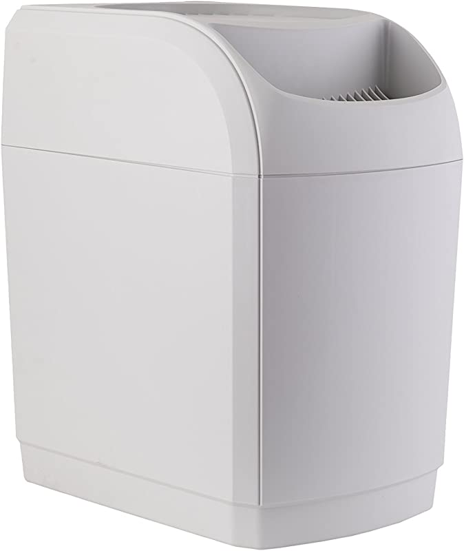 AIRCARE 831000 Space Saver White Whole House Evaporative Humidifier 2700 Sq Ft