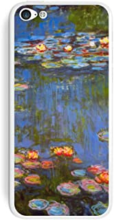 Graphics and More Water Lilies - Claude Monet Lillies Protective Skin Sticker Case for Apple iPhone 5C - Set of 2 - Non-Re...