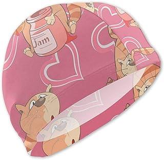 Gorro de baño con diseño de Gatos para niños Gorro de baño para niños