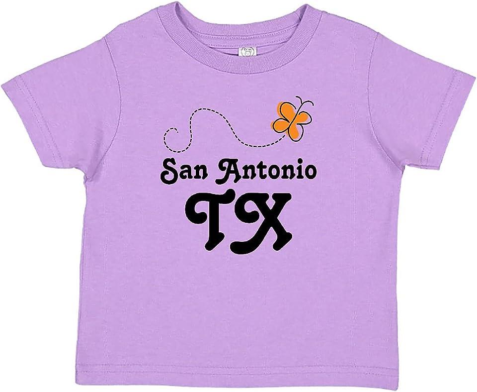 San Antonio Texas Butterfly Baby T-Shirt