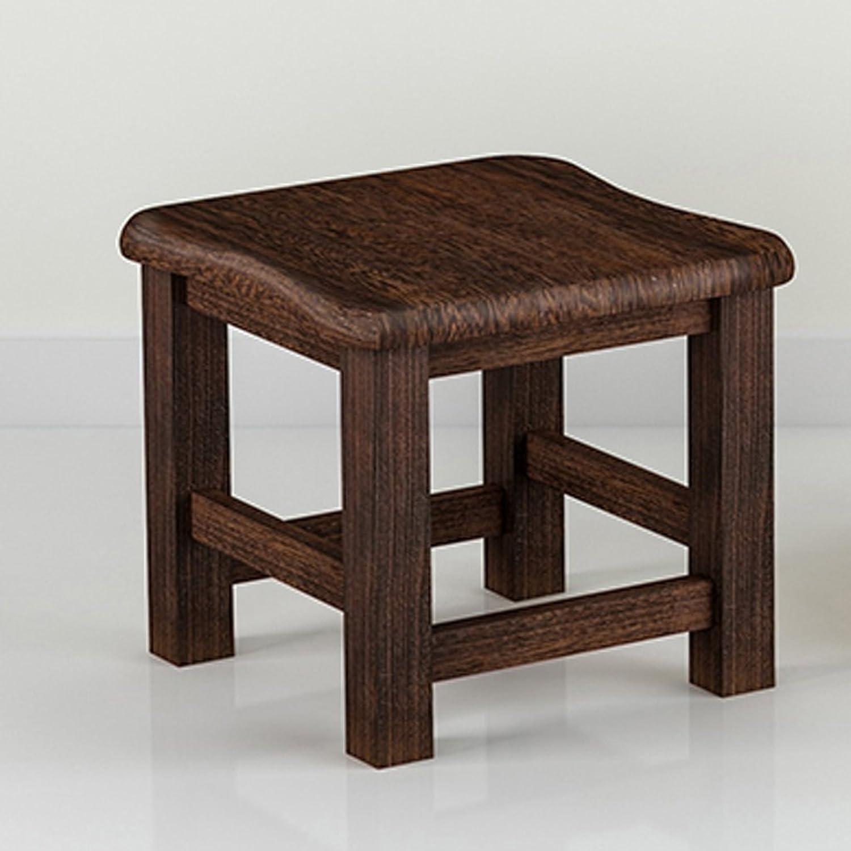 WENJUN Small Stool Stool Home Modern Small Stool Fashion Creative Stool Stool Solid Wood Home Wood Stool (color   B)