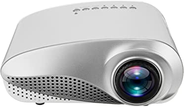 Android WiFi LED Projector, 3D Full HD 1080P Mini Projector LED Multimedia Home Theater USB VGA HDMI TV AV, Home Cinema Theater Presentation Education Outdoor Indoor Public Display (As Show)