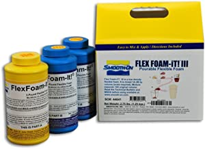 Smooth-On Flex Foam-IT! 3 Pourable Flexible Foam Trial Unit - Great for Squishies and Stress Balls!