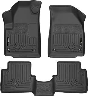 Husky Liners 99021 Fits 2013-16 Dodge Dart Weatherbeater Front & 2nd Seat Floor Mats, Black