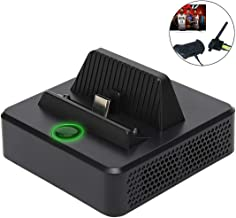 Defway Switch Dock, Portable Switch Charging Stand, Compact Switch to HDMI Adapter, Switch Docking Station with Extra USB 3.0 Port, Replacement Charging Dock for Nintendo Switch with USB C Power Input