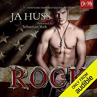 Rock audiobook cover art