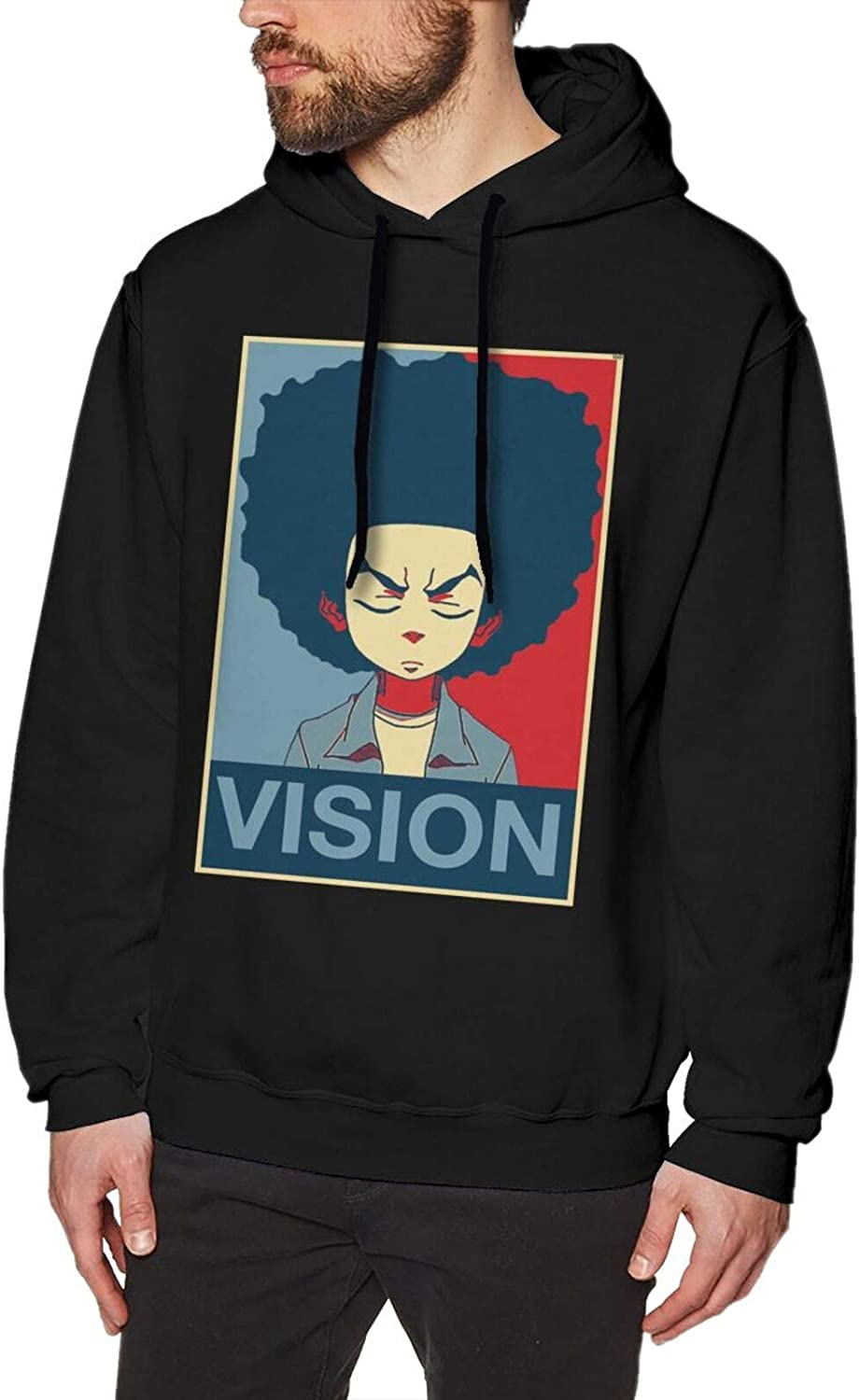 Charlotte Mall Youth Mens The Manufacturer regenerated product Boondocks Hooded Sweatshirt Sleeve Pullover Long