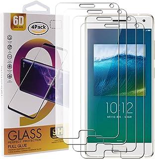 comprar comparacion Guran 4 Paquete Cristal Templado Protector de Pantalla para Lenovo ZUK Z2 Pro Smartphone 9H Dureza Anti-Ara?azos Alta Defi...