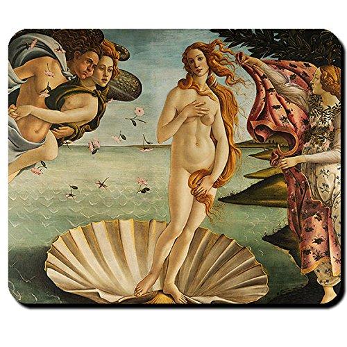 Tappetino per mouse con Venere del Botticelli, 16419