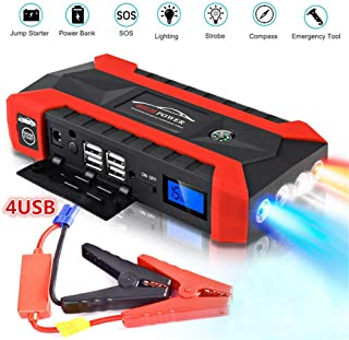 89800mAh Car Battery Jump Starter Pack - Cargadores