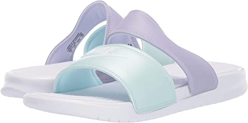 White/White/Oxygen Purple/Teal Tint