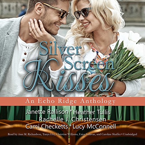 Silver Screen Kisses audiobook cover art