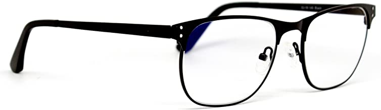 Computer Glasses by Phonetic Eyewear Charlie in Black with Blue Light Protection by Phonetic Eyewear