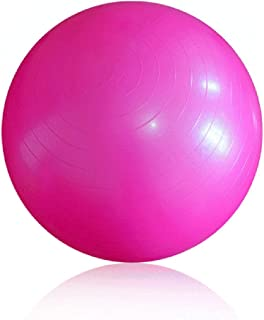 WXYXG Yoga Ball, Thicken Explosion-Proof Ball Fitness Lose Weight Yoga Ball Child Gym Ball Balance Ball (Color : #1, Size : 55cm)