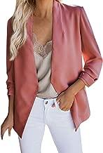 Loosebee◕‿◕ Women Blazer for Autumn,Women Plus Size Blazer Tops Long Sleeve Pockets Jacket Ladies Office Wear Coat