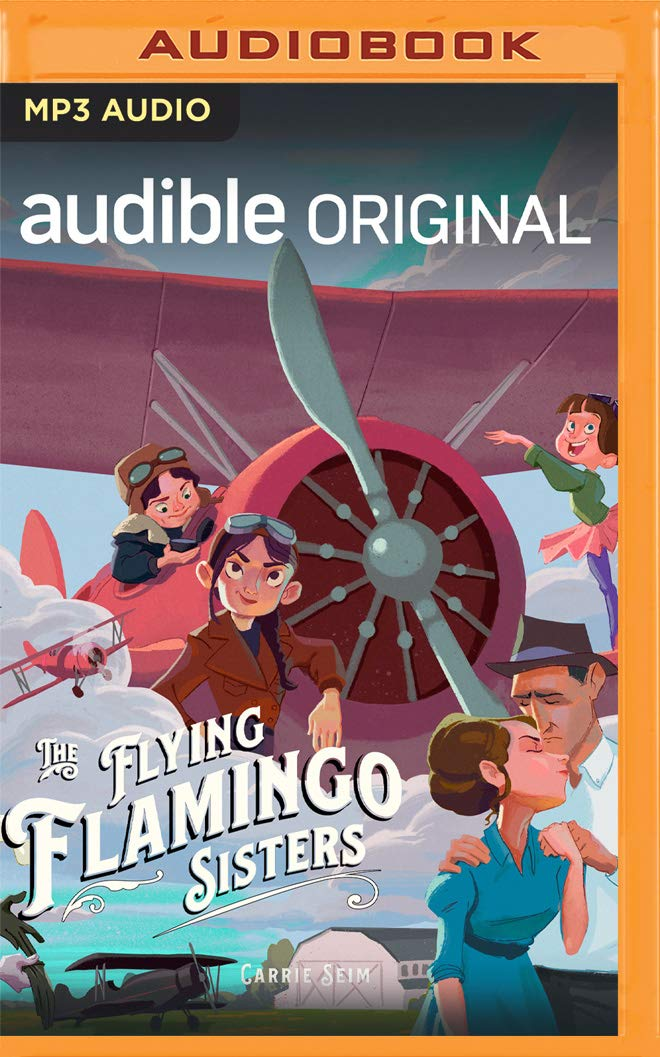 Cover image of The Flying Flamingo Sisters by Carrie Seim