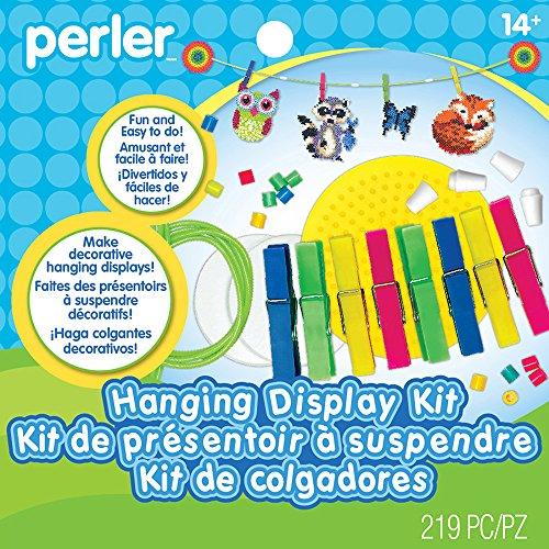 Perler Beads Hanging Display Kit Bead Crafts, 219 pcs