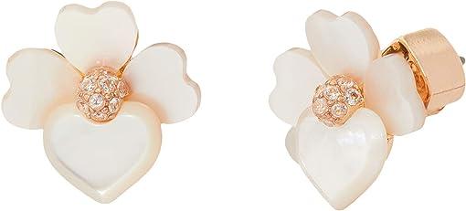 Cream Multi/Rose Gold
