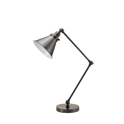 Decorator's Lighting 17068ORB Adjustable Desk Lamp, 24.5  H, Oil Rubbed Bronze