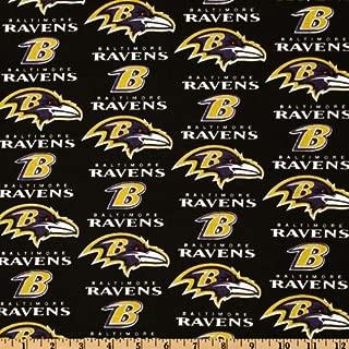 Best baltimore ravens fabric Reviews