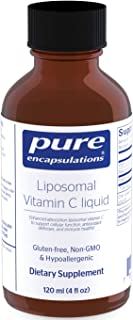 Pure Encapsulations - Liposomal Vitamin C - Support for Cellular Function, Antioxidant Defenses and Immune Health* - 4 fl....