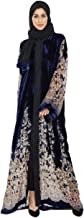Nukhbaa Blue Casual Abaya For Women