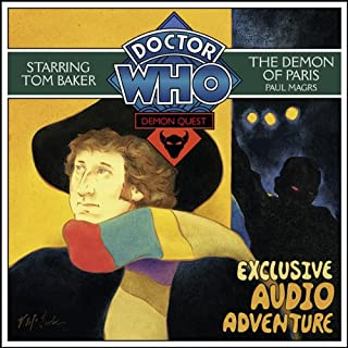 Doctor Who: Demon Quest 2 - The Demon of Paris audiobook cover art