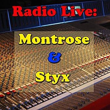 Radio Live: Montrose & Styx Vol.2 (Live)