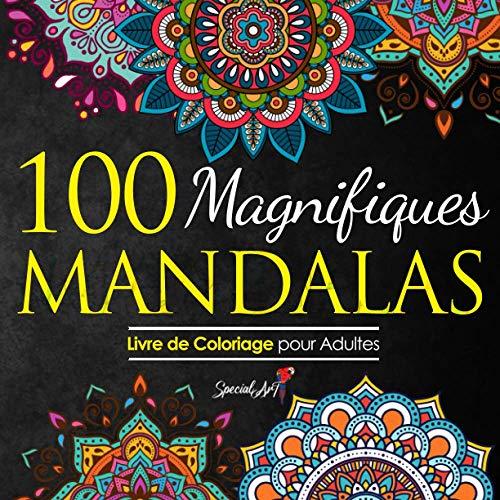 100 Magnifiques Mandalas: Livre de Coloriage pour Adultes, Super Loisir Antistress pour se détendre avec de beaux Mandalas à Colorier Adultes