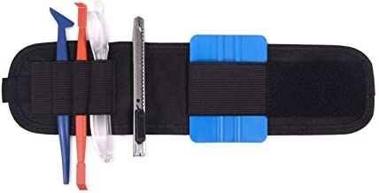 Gomake Magnetic Wristband, Wrist Band Tool Belt, Tool Organizer with a Magnet / 5 Retractable Belt - Adjustable Strap - fo...