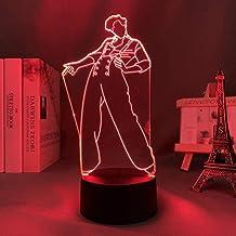Tatapai Luz de noche 3D Anime japonés Ilusión Lámparas de decoración LED Luz de noche 3D Lámpara de Harry Styles Regalo pa...
