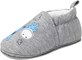 Baby Slippers Non Slip Soft Rubber Sole Cartoon Crib Shoes