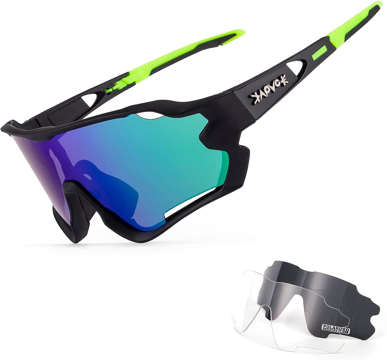 KAPVOE Cycling wholesale Glasses Polarized Sunglasses Women Men Mounta MTB Austin Mall