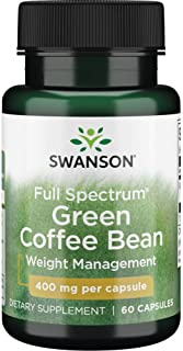 Sponsored Ad - Swanson Full Spectrum Green Coffee Bean 400 Milligrams 60 Capsules