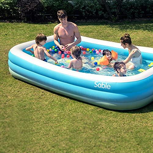 Sable Inflatable Pool