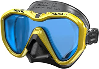 Italica Scuba Diving Snorkeling Mask, Mono Lens