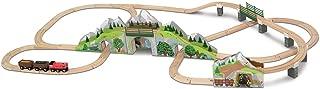 Melissa & Doug Children's Mountain Railway Train Set