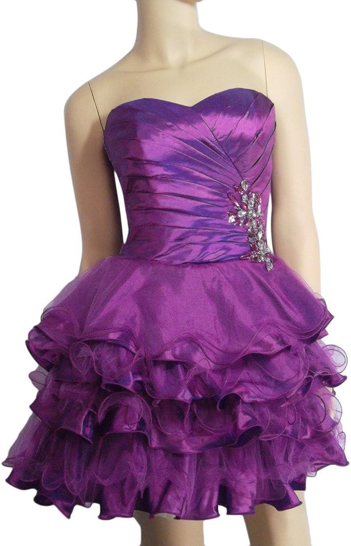 Alivila.Y Fashion Strapless Women's Cocktail Party Dress B8232