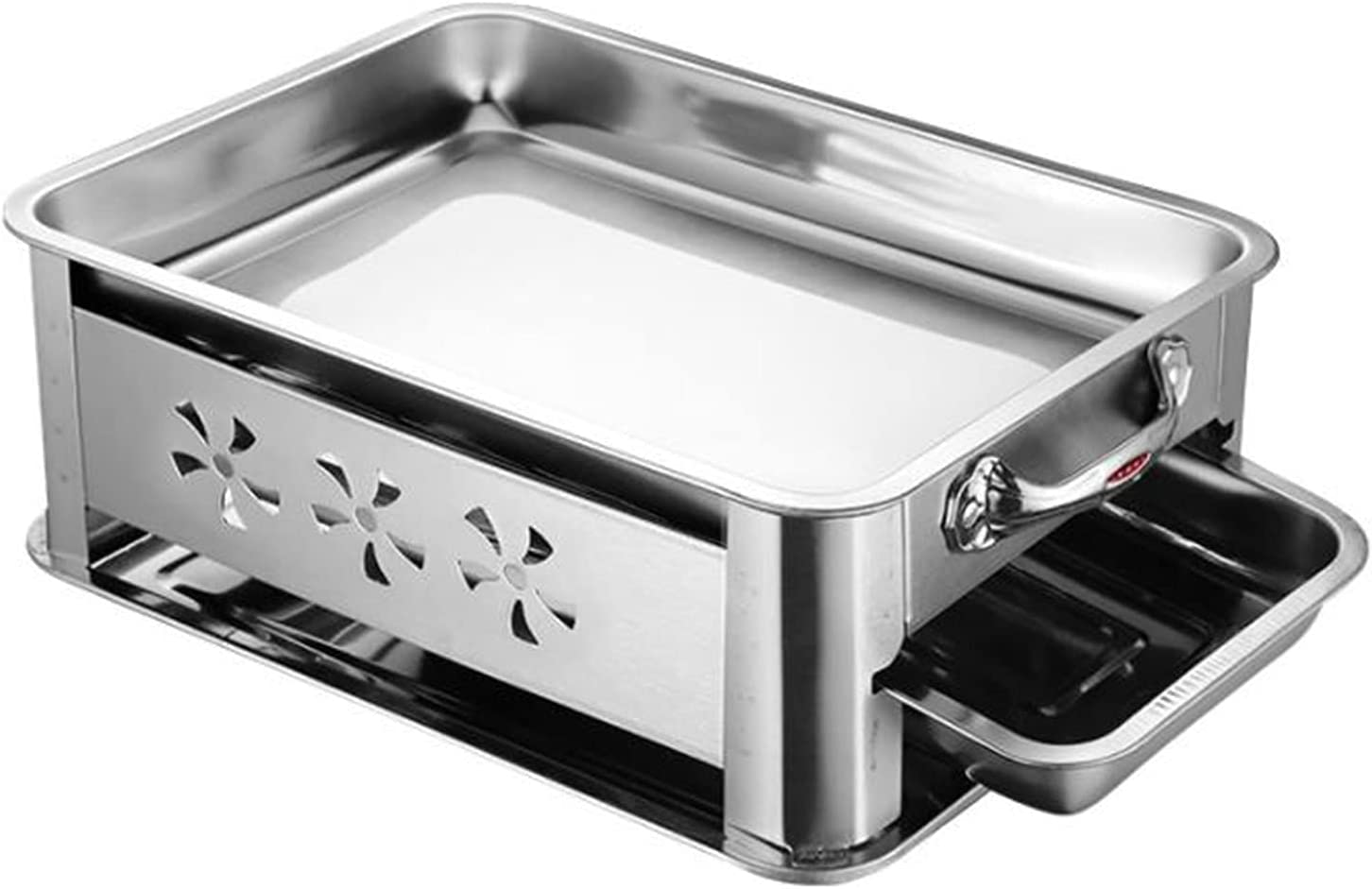 Stainless Special Campaign Dallas Mall Steel Grilled Fish Grill Portable Dual-Purpose Stove
