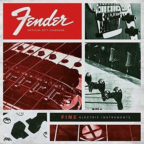 Grupo Erik Editores Fender - Calendario 2017, 30 x 30 cm