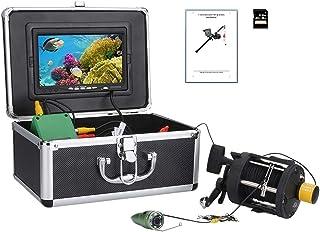 Fish Finders Grabadora DVR de 7 Pulgadas Buscador de Peces, Lámpara LED infrarroja de 6W Cámara de Video de Pesca subacuát...