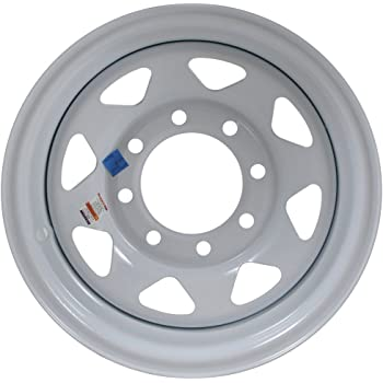 16 Inch New Implement Wheel 16x8 8on8 8 Bolt 8 Lug Cream Rim 5000 lb Rated SIL